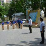 Юнармейский «плац-парада» посвященный Дню России