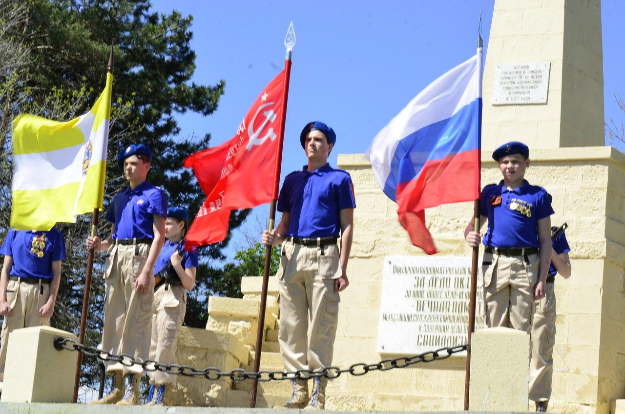 Автопробег, посвященный 73 годовщине Великой Победы (3)