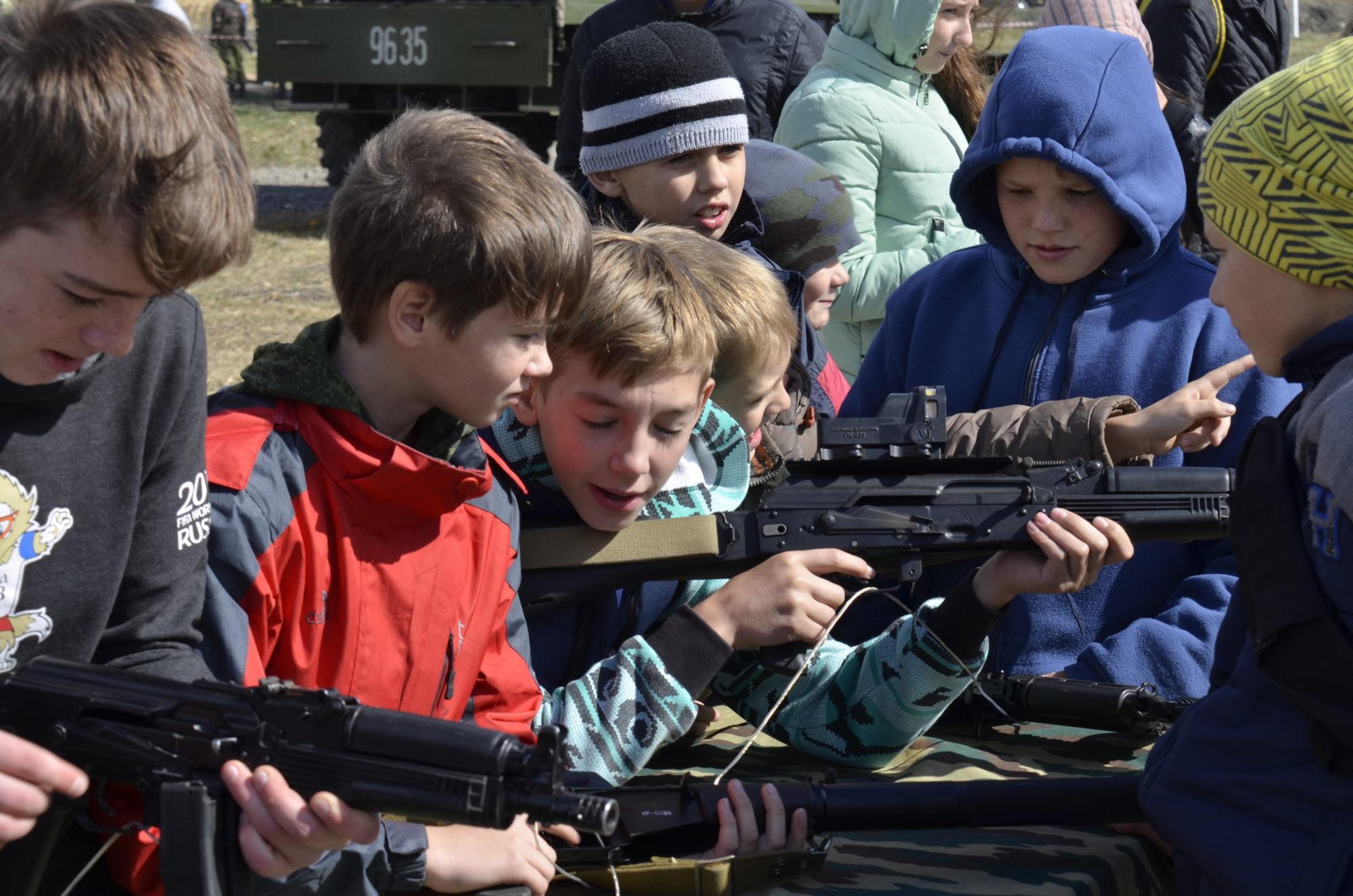 Экскурсия на полигон войсковой части 6762 (3)