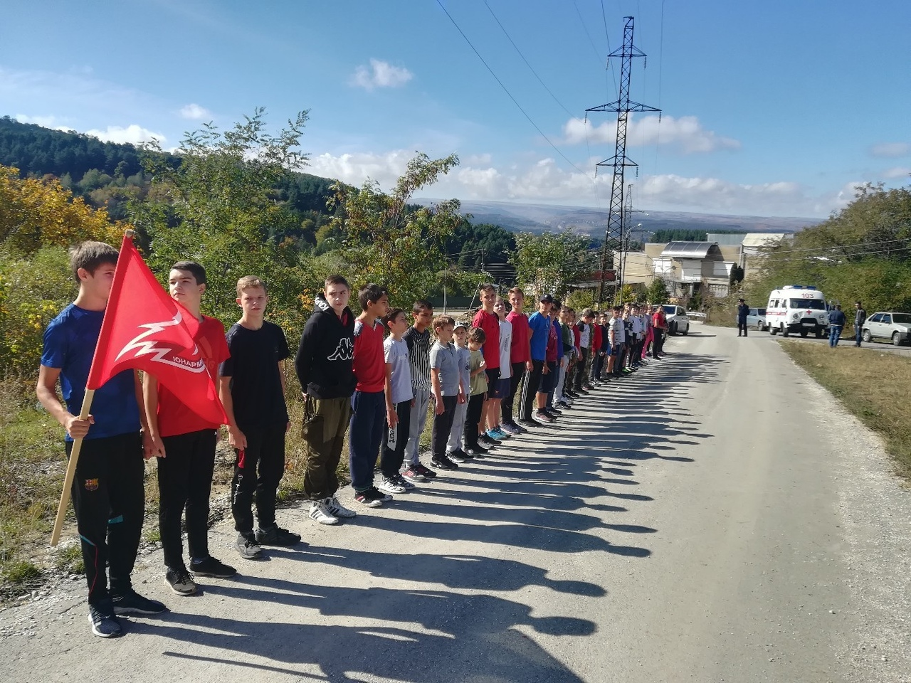Соревнования по горному бегу Забег на гору Кабан (1)