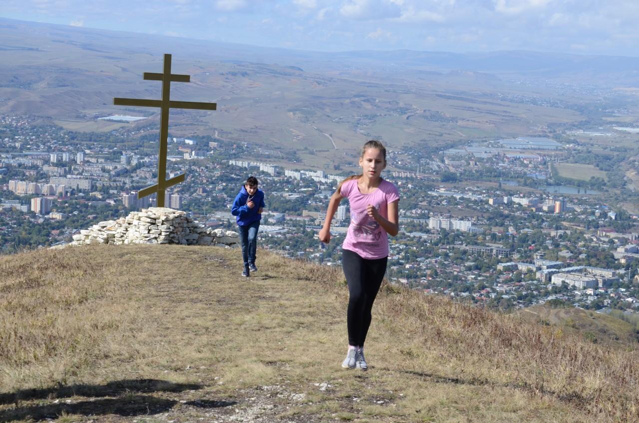 Соревнования по горному бегу Забег на гору Кабан (2)