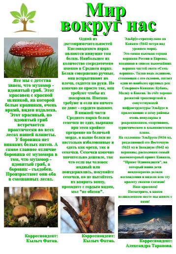 Газета Вестник ЦЕНТУРа выпуск 1 (4)