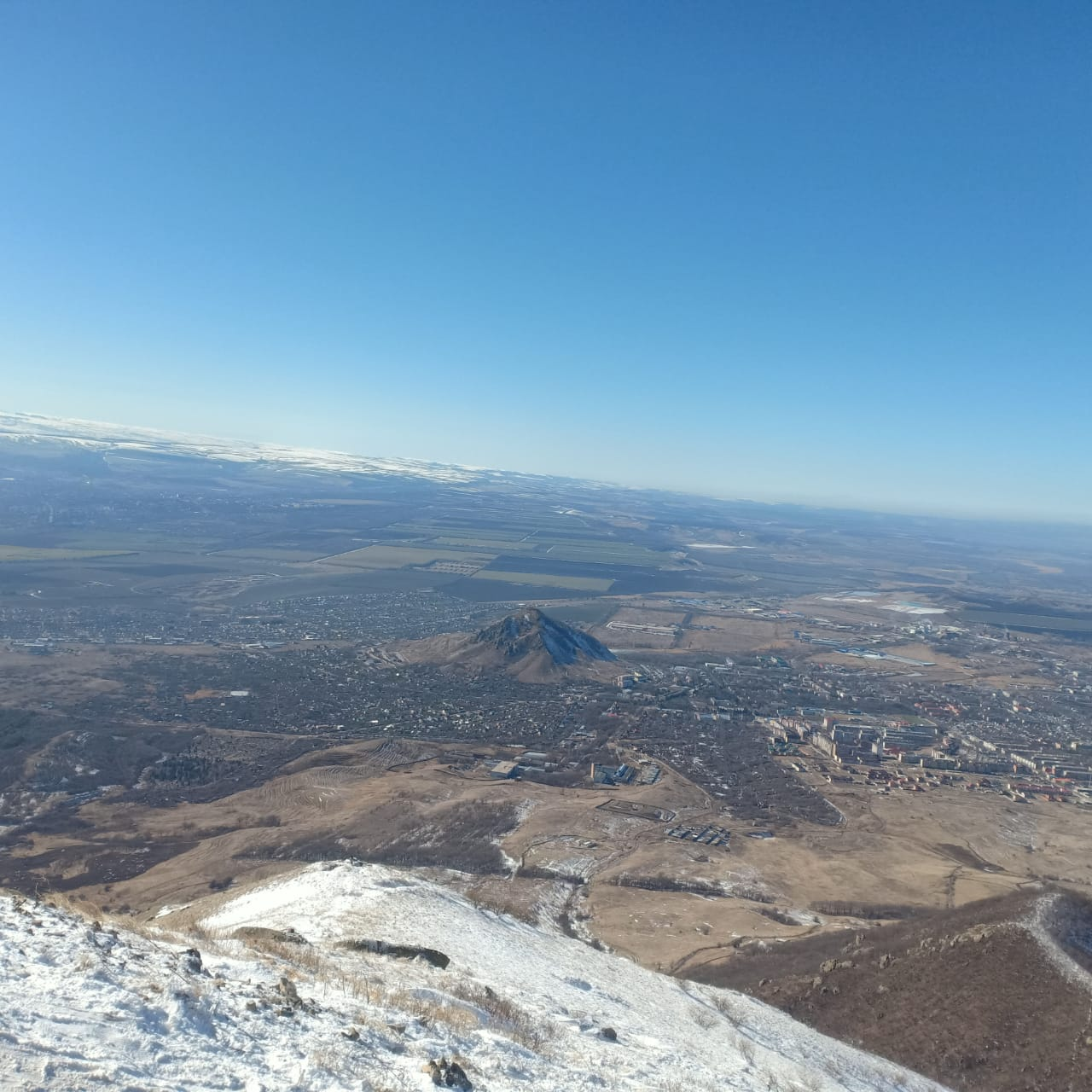 Массовое восхождение на гору Бештау центур (5)